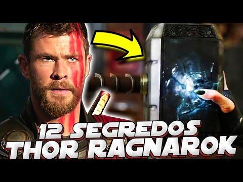 12 SEGREDOS SOBRE O TRAILER DE THOR RAGNAROK