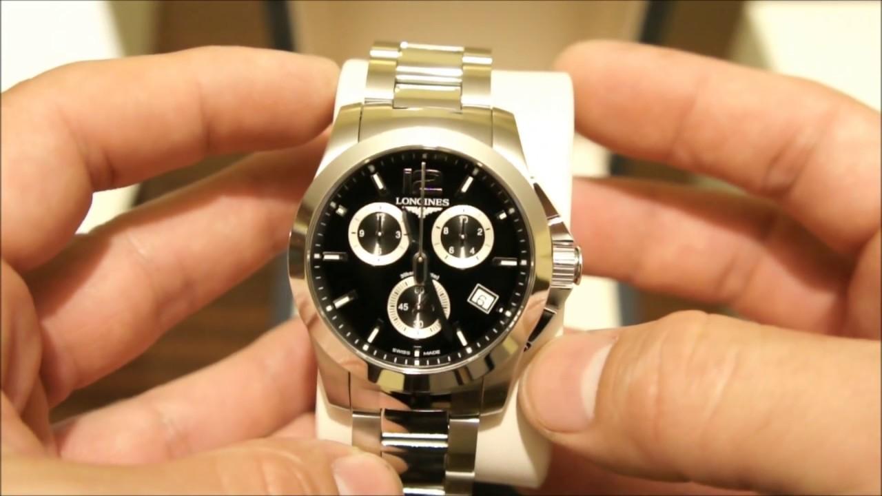 Longines conquest chronograph quartz youtube - Prix longrines prefabriquees ...