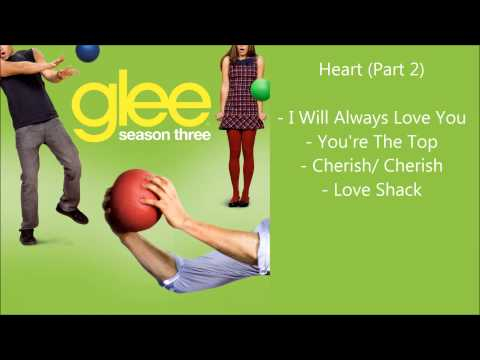 Glee – Heart songs compilation (Part 2) – Season 3