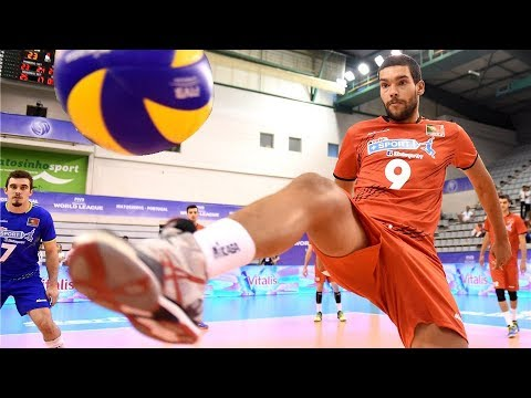 TOP 20 Legendary Volleyball Saves Of All Time (HD)