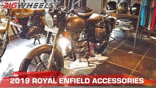 2019 Royal Enfield Accessories | Alloy Rims, Luggage Rack & More! | ZigWheels.com