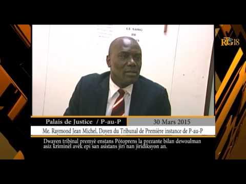 Haïti/Justice.-Bilan du déroulement des assises criminelles.