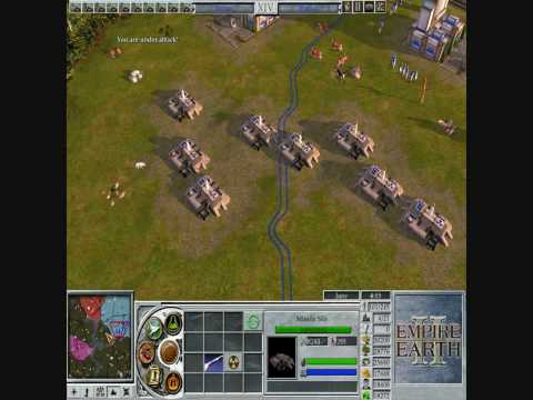 Empire Earth II  -nuke warfare-