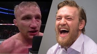 "Justin Gaethje ""I will break him"",Conor Mcgregor reacts on twitter (Michael Johnson TUF 25)"