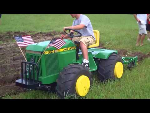 Mike D and I plowing with Glenn P's Custom Tractor Music Videos
