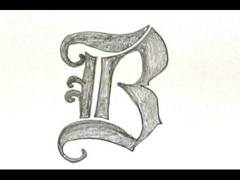 Old english letter u