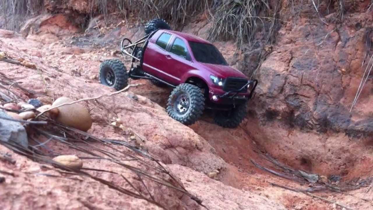 Toyota Tundra Truggy Axial Scx-10 Tundra Truggy