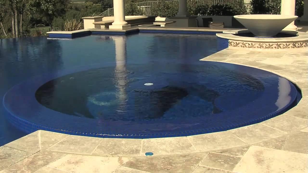 Vanishing Edge Swimming Pool And Spa Youtube