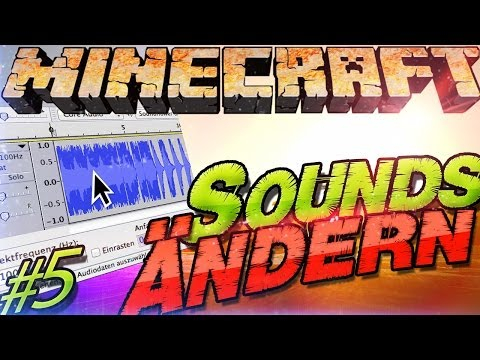 Minecraft 1.8 Sounds Ändern   Resource Pack Sound   Texture Packs erstellen [#5] German Deutsch