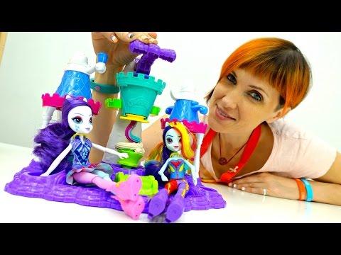 Видео для детей. Веселая Школа. Замок мороженого.