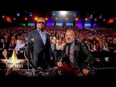 Arnold Schwarzanegger Takes Over The Show - The Graham Norton Show