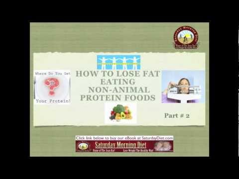 Part #2- How to lose FAT- Eating Non-Animal Protein