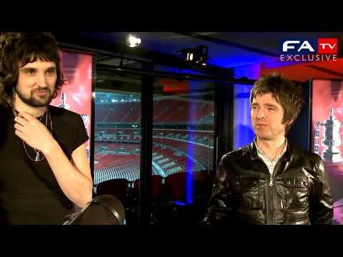 Behind the scenes of the FA Cup draw with Serge and Noel