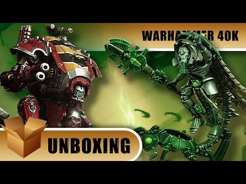 Unboxing: Warhammer 40k - Forgebane Battlebox