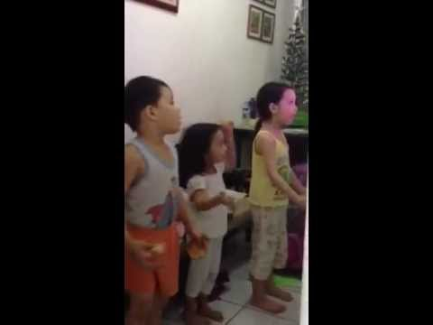 Kids dancing Hi-5s Wish upon a star