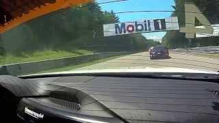 BimmerWorld Racing James Clay BMW F30 328i Canadian Tire Motorsport Park Race Restart