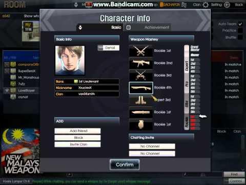 BLACKSHOT hack mastery pistol very funny