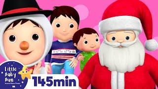 Christmas Songs Compilation!   Huge!   Plus Over 2 Hours of Nursery Rhymes by LittleBabyBum!