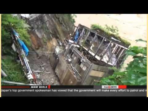 *Breaking News* Levee Breaks Outside Tokyo-Rescue Efforts Underway