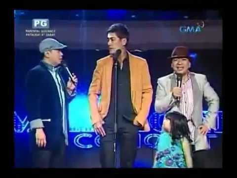 The Manager in Concert with Jose,Wally & Ryzza in Eat Bulaga - March 9, 2013