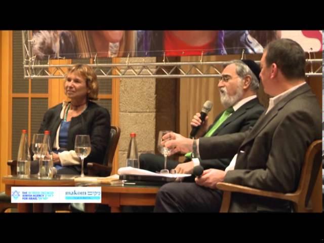 Makom Salon - Chief Rabbi Lord Sacks and Fania Oz-Salzberger