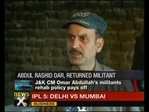 Good News: Surrendered militant benefits from J&K's rehabilitation policy - NewsX