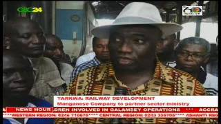 Ghana Manganese Company to partner Ministry Of Railway Development