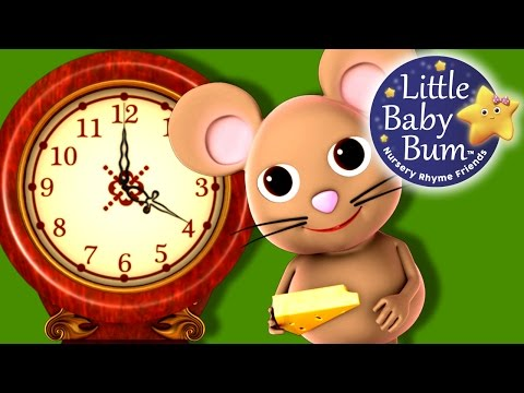 Hickory Dickory Dock - Nursery Rhyme - Beautiful 3d hd Animation video