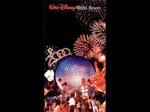 Walt Disney World Resort 2000 planner - Virgin Holidays (UK VHS)