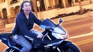 Funny, Crazy & Weird Things Bikers See, Say & Do 2017 [Ep.#15]