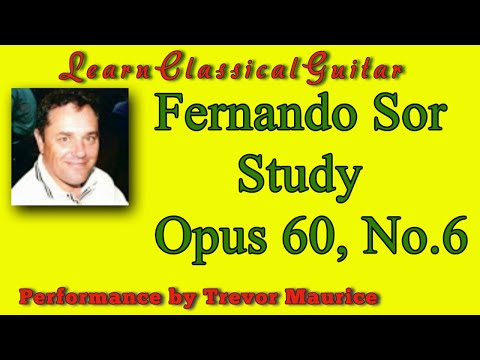 Fernando Sor Study (www.learnclassicalguitar.com)