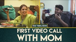 First Video Call With Mom | The Timeliners