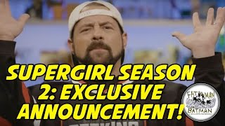 SUPERGIRL SEASON 2: EXCLUSIVE ANNOUNCEMENT... KEVIN SMITH DIRECTS AN EPISODE!  FAT MAN ON BATMAN 061