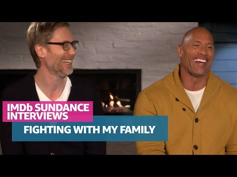 Dwayne Johnson And Stephen Merchant Bond Over WrestleMania And 'Fighting With My Family'