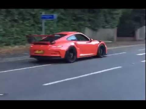 Porsche 991 GT3 RS X Fi Exhaust Loud Sound !! This is POWER!!!