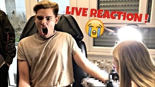 MEIN ERSTES TATTOO - LIVE REACTION !!! 😱😱😱