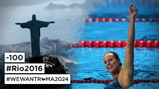 100 days to Rio 2016 - Come on guys!