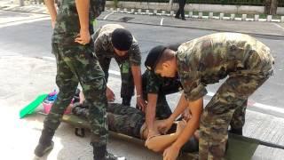 แนวทางปฐมพยาบาล ทหาร Heat Stroke