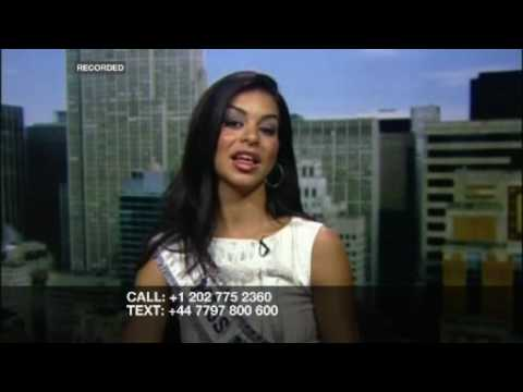 RIZ KHAN: Miss USA Rima Fakih - Part Two
