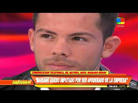 Mariano Berón: Me presenté a declarar voluntariamente