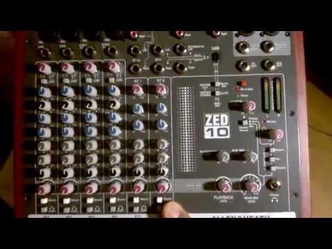 Unboxing ZED10 + Internet Radio Broadcast Equipment (Mixer, Mic +, Cables)