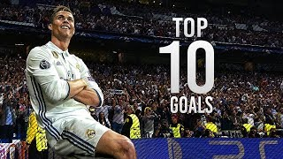Cristiano Ronaldo Top 10 Goals 2016/17 | English Commentary | HD