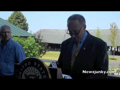 Newzjunky.com-Sen. Charles Schumer Touts Pre-Clearance Security Measures to Save Tourism, Fishing