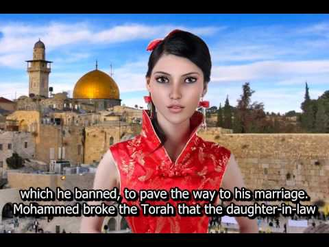 Muhammad illegally married a son's wife, Jewess & 9-year Aisha while Sawda was alive!