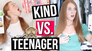 KIND VS. TEENAGER: MORGENROUTINE! | LaurenCocoXO