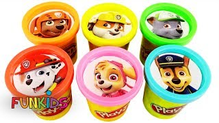 Paw Patrol Play Doh Cans