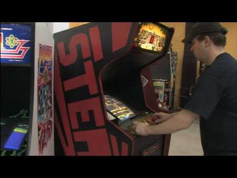 Classic Game Room - LOST TOMB arcade machine review