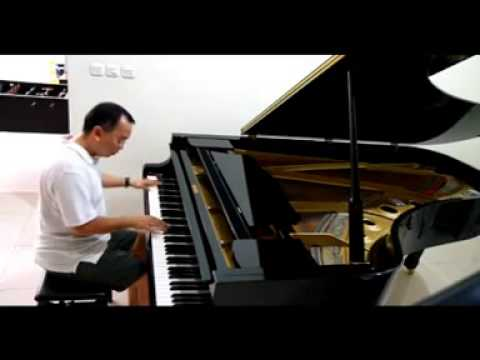 Tanah Airku By Piano video