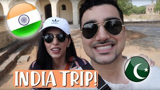 TAKING MY PAKISTANI HUSBAND TO INDIA !