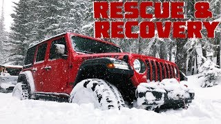 Stuck in the Snow - Rescue and Recovery!